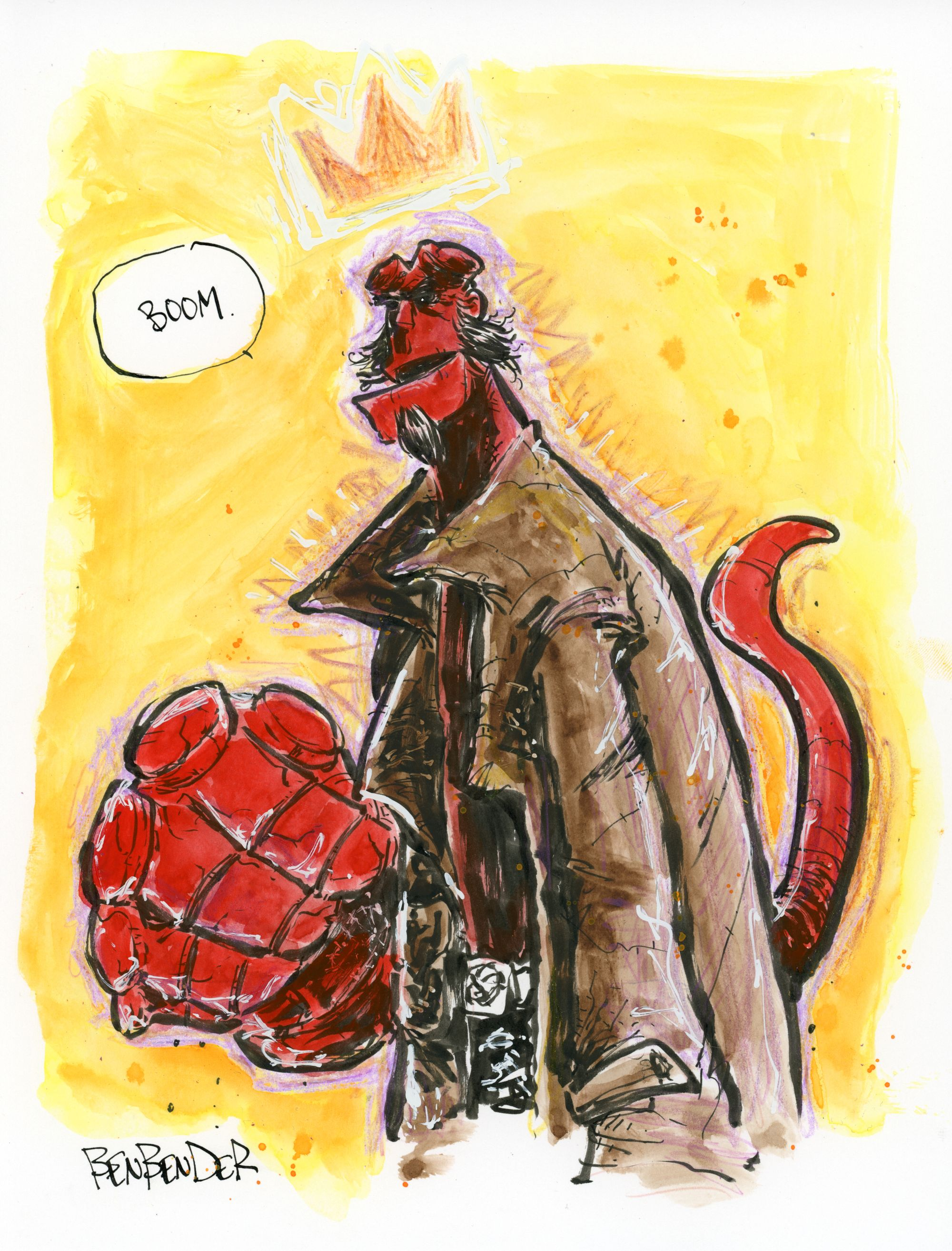 Hellboy (color)